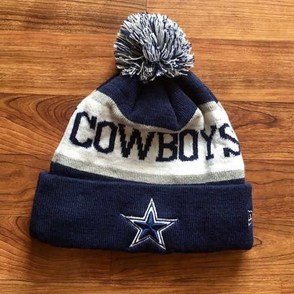 NFL Football Dallas Cowboys Winter Beanie Warm Hat.  M 5b7de1bcc2e88e8f3395061e. Other Accessories ... 97bbb57bf